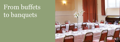 Both buffets and banquets catered for at Thornfield House